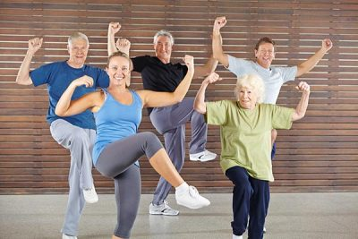people with healthy joints