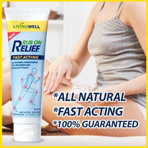 rub on relief cream