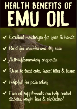 health benefits of emu oil
