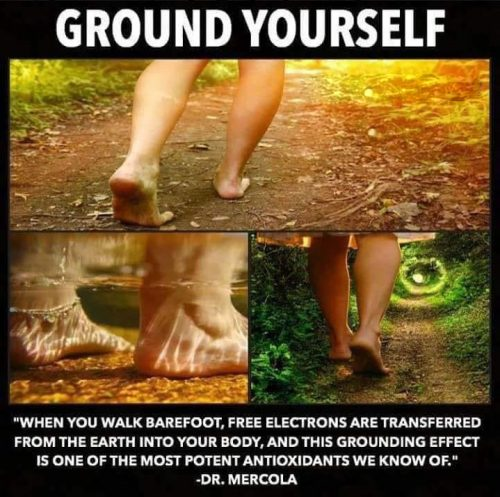earthing or grounding