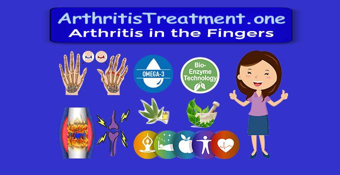 Arthritis in the Tips of Fingers