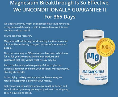 magnesium for arthritis